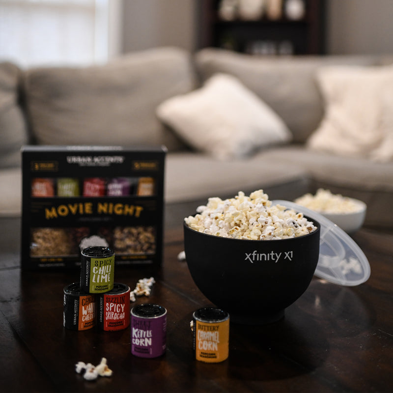 Movie Night Gourmet Popcorn Gift Set