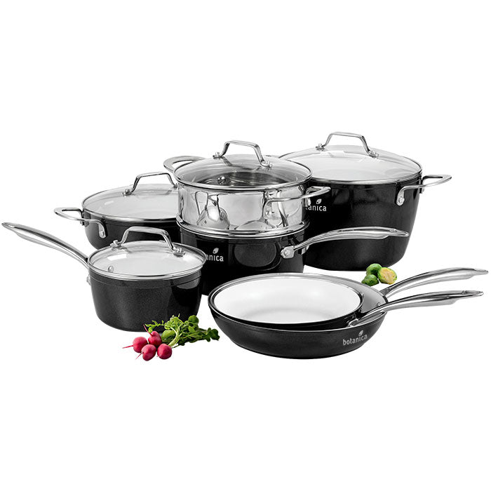 Studio Cuisine™ 11 Piece Aluminum Cookware Set