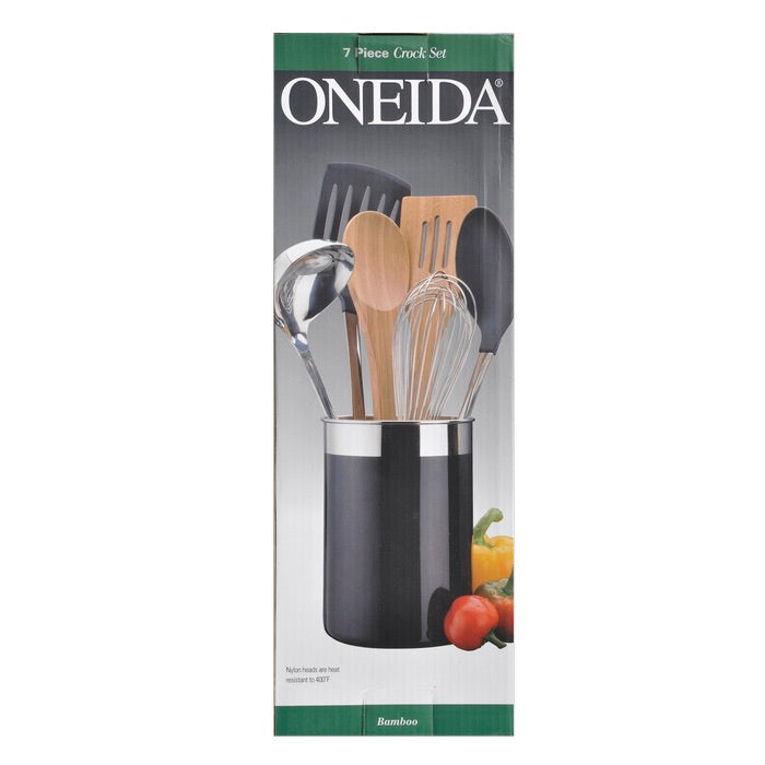 Oneida® 7 Piece Enamel Crock Set