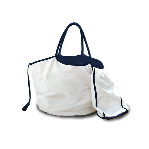 Nautical Reversible Bag/Freestyle Swim Towel