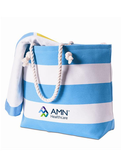 Skipper Bag/Islander Beach Towel Combo