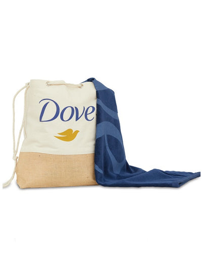Tradewind Canvas & Jute Tote and Beach Towel Set