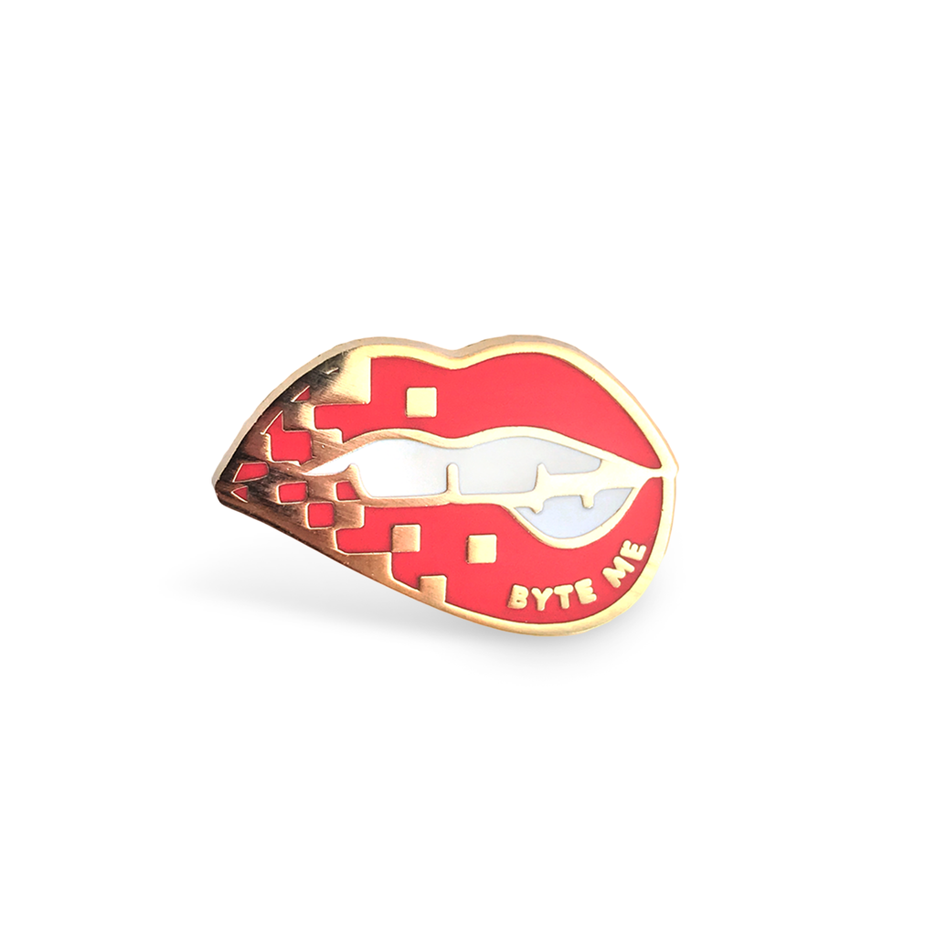 Byte Me Lapel Pin