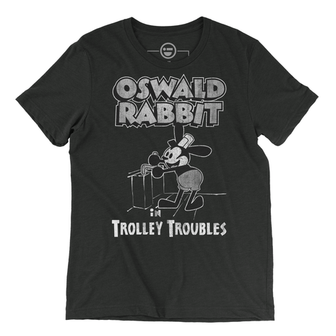 Oswald The Lucky Rabbit in Trolley Troubles Tee