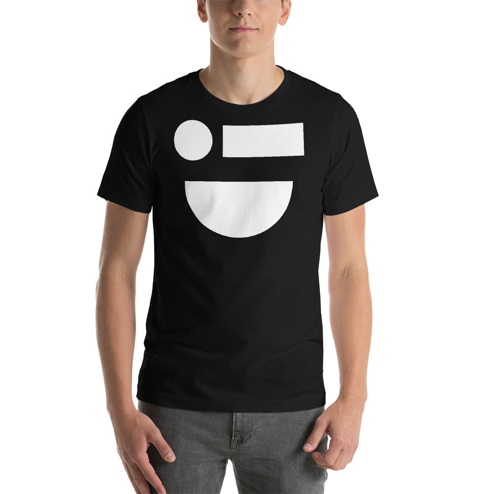 Smile Black T-Shirt