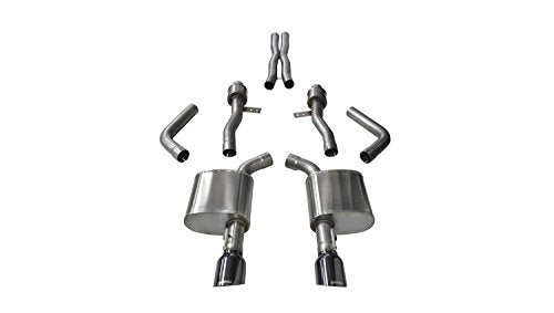 Corsa 14995BLK Cat Back Exhaust ( Dodge Charger R/T Scat Pack 6.4L V8, Sport)