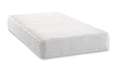 Signature Sleep Contour 8 Inch Independently Encased Coil Mattress with Low VOC CertiPUR-US Certified Foam, 8 Inch Twin Coil Mattress - Available in Multiple Sizes