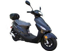 TaoTao 50cc Gas Street Legal Scooter ATM50-A1, Black