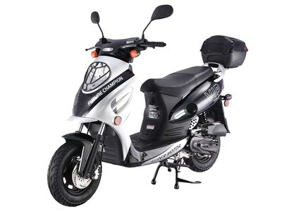 TaoTao CY50-A Fully Automatic 49cc Gas Scooter Moped w/ 10 Inch Steel Rims