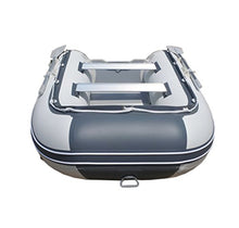Newport Vessels 8-Feet 10-Inch Dana Inflatable Sport Tender Dinghy Boat - USCG Rated (White/Gray)