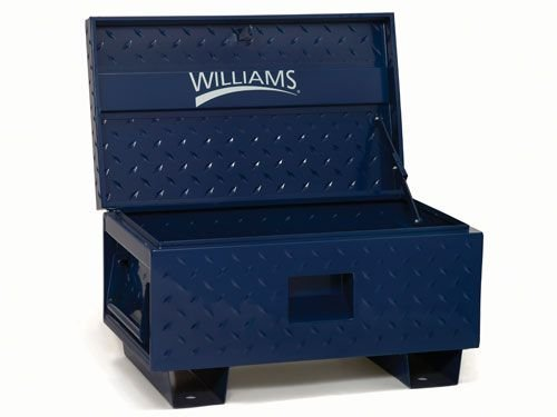 Williams 50952 48-Inch W X 24-Inch D X 27.5-Inch H Job Site Boxes, Blue