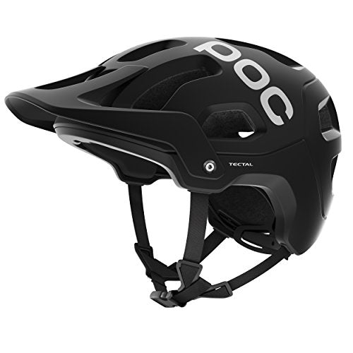 POC Tectal Bike Helmet, Uranium Black, Medium/Large