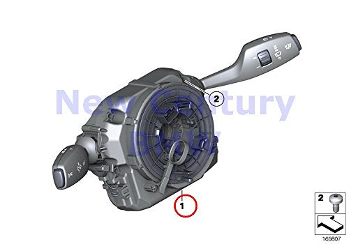 BMW Genuine Switch Unit Steering Column Switch Unit Steering Column 740i 750i 750iX ALPINA B7 ALPINA B7X 740i 750i 750iX ALPINA B7 ALPINA B7X 740Li 750Li 750LiX 760Li ALPINA B7L ALPINA B7LX 740LdX 740