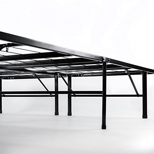 Zinus 14 Inch SmartBase Mattress Foundation / Platform Bed Frame ...