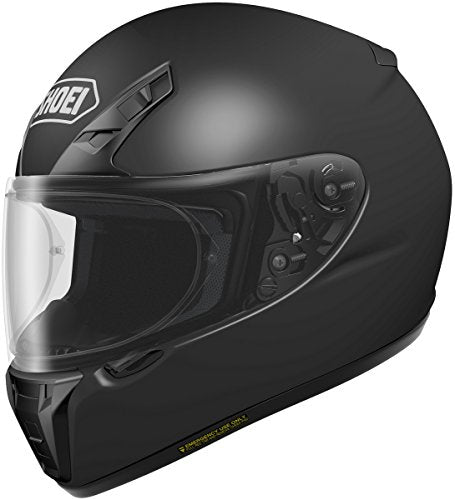 Shoei RF-SR Street Racing Motorcycle Helmet - Matte Black / Large