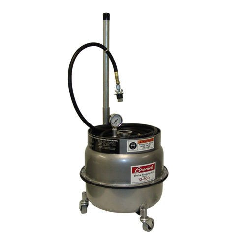 Pressure Brake Bleeder with Universal Adapters