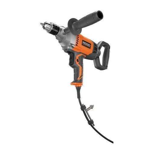 Ridgid ZRR7122 9.0 Amp 1/2 in. Spade Handle Mud Mixing Drill (Certified Refurbished)