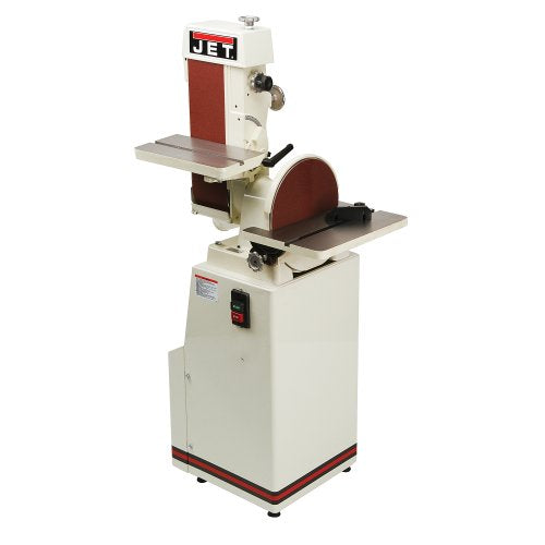 JET J-4200A Single Phase Industrial Belt and Disc Finishing Machine
