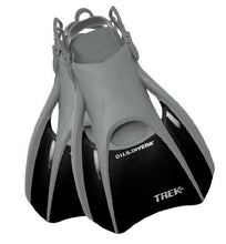 U.S. Divers Adult Trek Travel Fin (Black, Large )
