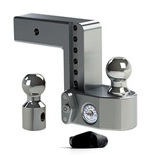 "Weigh Safe WS6-2.5 Adjustable Ball Mount with 6"" drop and 2.5"" Shank"