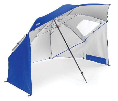 Sport-Brella Portable All-Weather and Sun Umbrella 8-Foot Canopy Blue