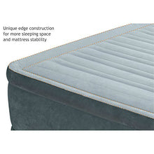 "Intex Comfort Plush Mid Rise Dura-Beam Airbed with Built-in Electric Pump, Bed Height 13"", Full"