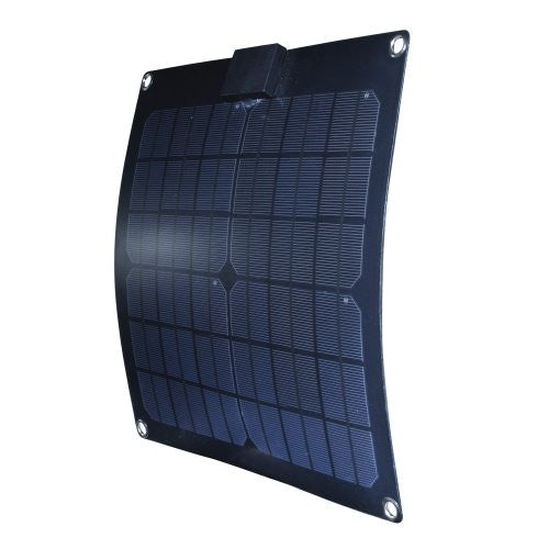 Nature Power 56701 15-watt Semi-Flex Monocrystalline Solar Panel for 12-volt Charging