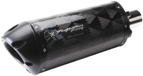 Two Brothers Racing (005-1460407V-B) Black Series M-2 Carbon Fiber Canister Slip-On Exhaust System