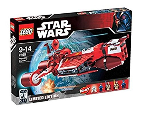 Lego Star Wars Republic Cruiser 7665
