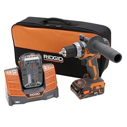 Ridgid ZRR86008K 18V Cordless Fuego Lithium-Ion Compact Drill Driver (Certified Refurbished)