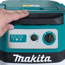 Makita XCV06Z 18V X2 LXT Lithium-Ion Brushless Cordless 2.1 gallon Wet/Dry Dust Extractor/Vacuum - Tool Only