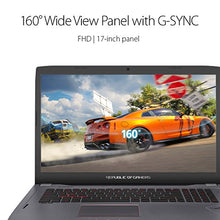 "ASUS ROG Strix GL702VS 17.3"" Full HD Ultra Thin and Light Gaming Laptop,75HZ G-SYNC Display, GeForce GTX 1070 8GB, Intel i7-7700HQ 2.8 GHz, 12GB DDR4 RAM, 128GB SSD + 1TB 7200 rpm HDD"