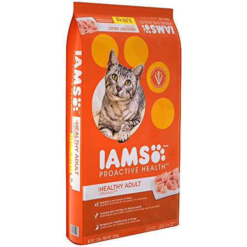 IAMS PROACTIVE HEALTH Adult Original With Chicken Dry Cat Food 22 Pounds