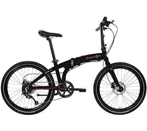 Dahon Ios D9 Obsidian Folding Bike Bicycle Black