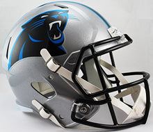 NFL Carolina Panthers Riddell Full Size Replica Speed Helmet, Medium, Blue