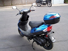 50cc Gas Street Legal Scooter TaoTao ATM50-A1 - Blue