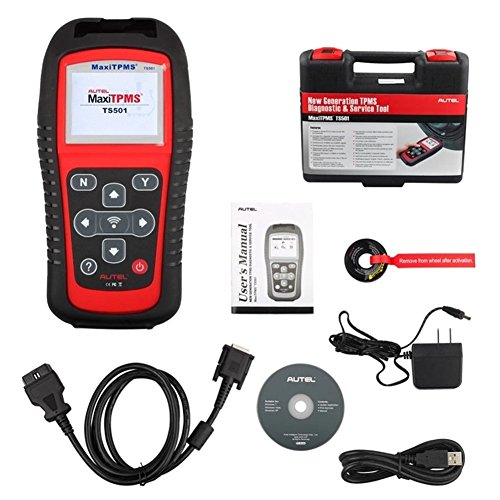 Autel MaxiSys Elite +MaxiTPMS TS601+ 315&433Mhz Sensors - Diagnostic Tool  with Specific Car ECU Coding & Programming TPMS Diagnostics & 2 Years Free