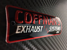 Coffman's Shorty Exhaust for Honda CBR600F4I 2001-06 Sportbike with Gold Tip