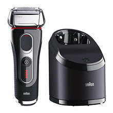 Braun Series 5 5090/5190cc Electric Foil Shaver for Men with Clean & Charge Station, Electric Men's Shaver, Razors, Shavers, Cordless Shaving System
