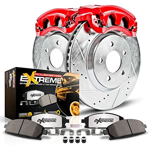 Power Stop KC3167A-36 Front Z36 Truck and Tow Brake Kit with Calipers