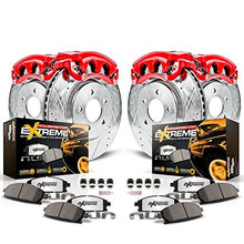 Power Stop KC2220-36 Front & Rear Z36 Truck and Tow Brake Kit with Calipers