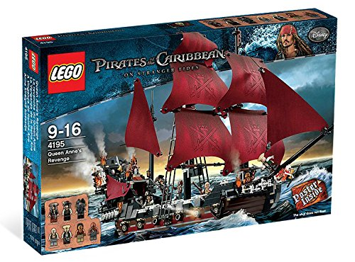 LEGO Queen Anne's Revenge 4195 (Discontinued by manufacturer)