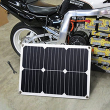 Suaoki 18V 12V 18W Solar Car Battery Charger Portable