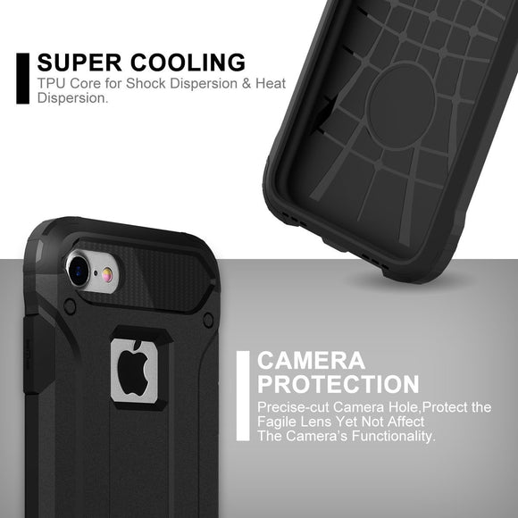 iphone Cases  Dual Layer Armor[Shockproof] Strong Guard Protection Series Case