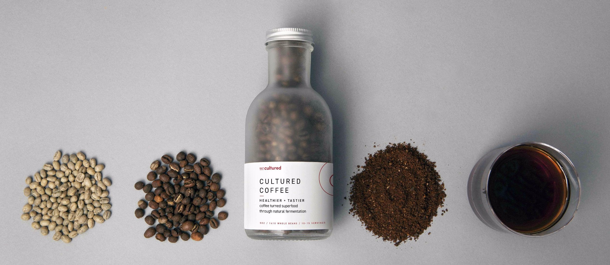 Cultured Coffee - Healthy Stomach Friendly Fermented Coffee