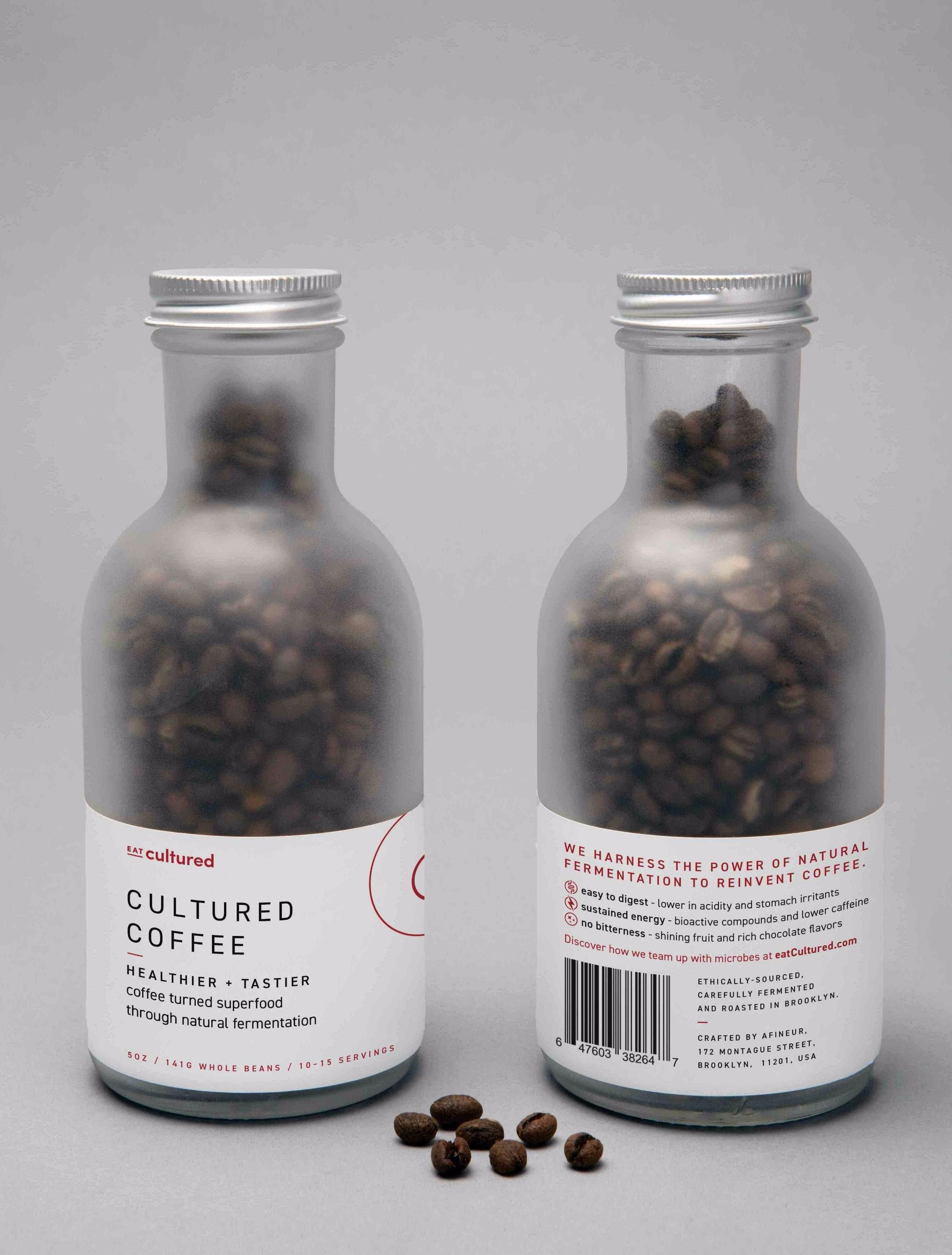 Cultured Coffee - Whole Beans 5 oz bags (Bottle sold out at this time)