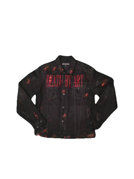 DBA Dead Rose Jeans Jacket