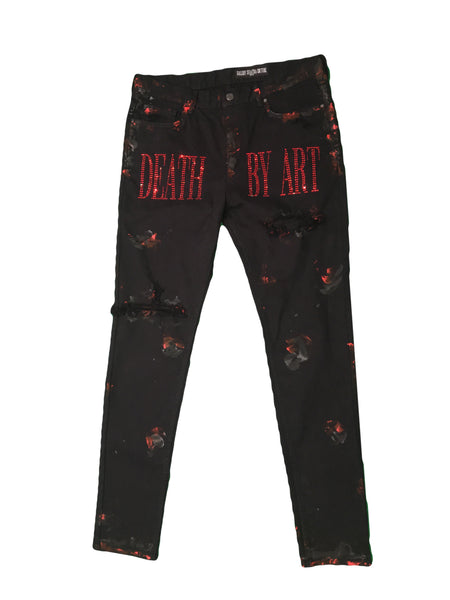 DBA MurDArt Denim Black/Red