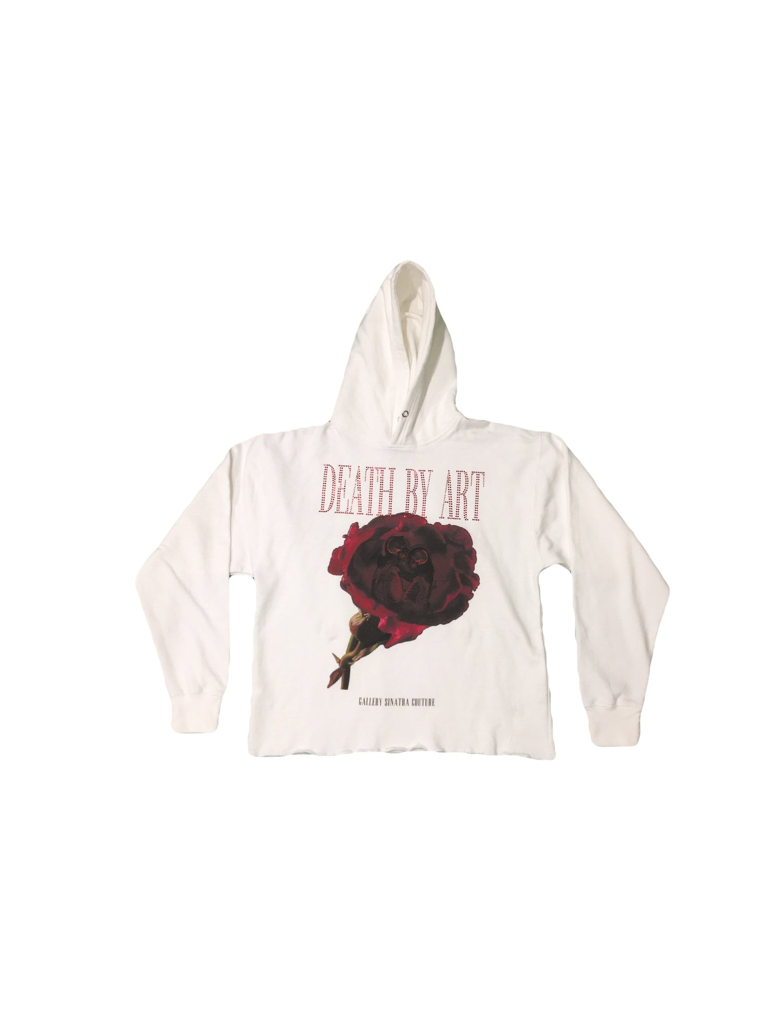 DBA Rose Hoodie White/Red