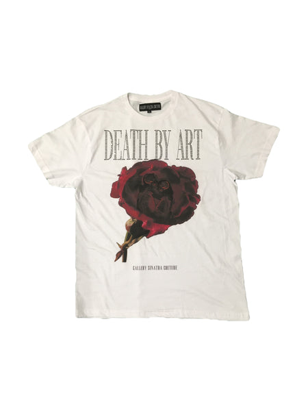 DBA Rose T-shirt White/Black